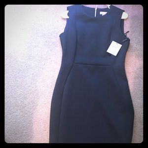 Calvin Klein dress. navy blue
